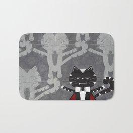 Count Von Whiskers Bath Mat