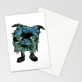 Lugga The Friendly Hairball Monster For Boos Stationery Cards