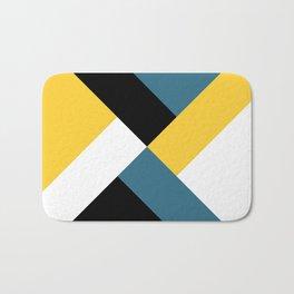 Triangles and stripes Bath Mat