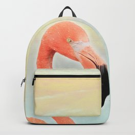 Sunset Flamingo Backpack