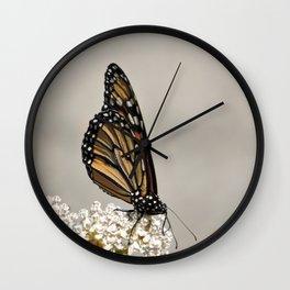 A Fine, Upstanding Monarch Wall Clock