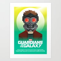 Guardians of the Galaxy - Star-Lord Art Print
