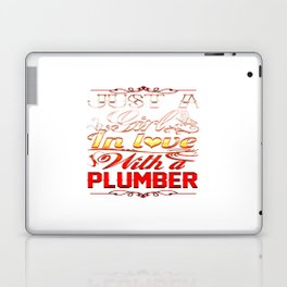 In love with Plumber Laptop & iPad Skin