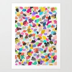 buttercups 3 Art Print