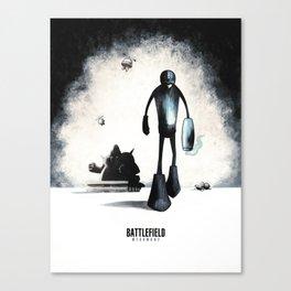 Battlefield - Megaman 2 Canvas Print