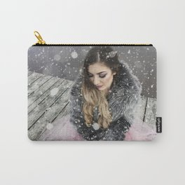snowy beauty Carry-All Pouch