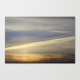Just another sunset Canvas Print