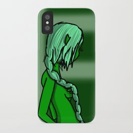 Green | Veronica Nagorny iPhone Case
