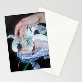 Night lily Stationery Cards