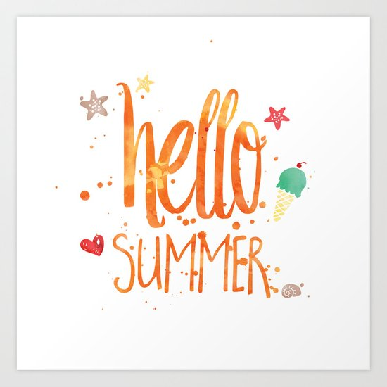 Hello Summer by textboy