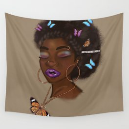 Hoops B'Fly Wall Tapestry