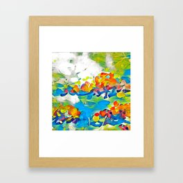 Splashes Of Color Rio de Janeiro by CheyAnne Sexton Framed Art Print