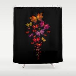 Digital Butterflies Shower Curtain