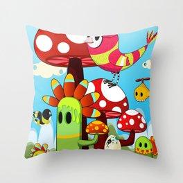 Critters Throw Pillow