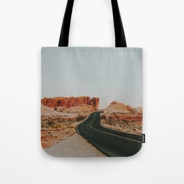 Desert Road Trip IV Tote Bag