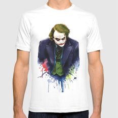 Joker LARGE Mens Fitted Tee White