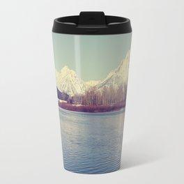 Grand Tetons on the Lake Travel Mug
