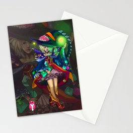Abyssal Witch Stationery Cards