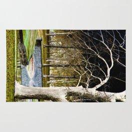 Park Scene - Inverted Art Series Rug