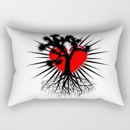 Joshua Tree Heart of the Hi Desert by CEYES Rectangular Pillow
