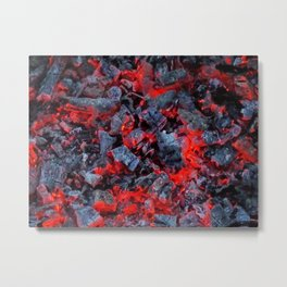 Firewalk Metal Print