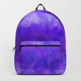 Dappled Blue Violet Abstract Backpack