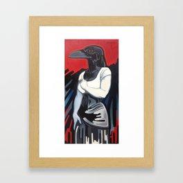 The Morrigan Framed Art Print