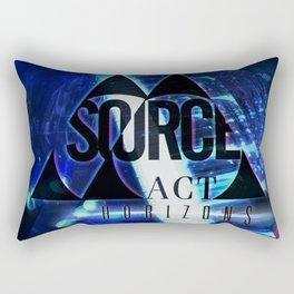 Horizons Album Art Rectangular Pillow