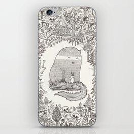 froggle, doggle and poggle iPhone Skin