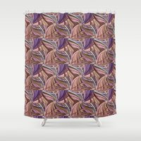 chocolate Shower Curtains featuring Chocolate by lillianhibiscus