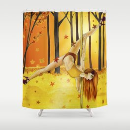 November 2017 Shower Curtain