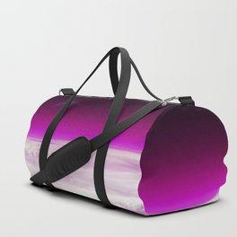 Purple Atmosphere Duffle Bag