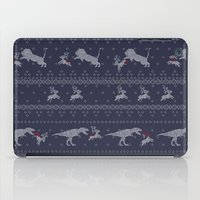 sweater iPad Cases featuring Ugly Sweater by Sarinya  Withaya