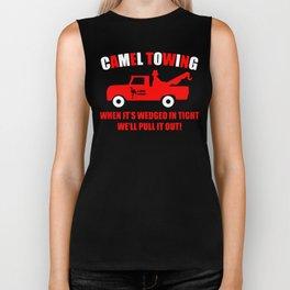 Camel Towing Funny T Shirt Adult Humor Rude Gift Tee Shirt Tow Truck Unisex Tee1redw b Biker Tank