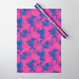 Cotton Candy Clouds Wrapping Paper