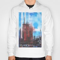 cityscape Hoodies featuring Cityscape by Alfred Raggatt