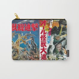 Godzilla Movie Posters Carry-All Pouch