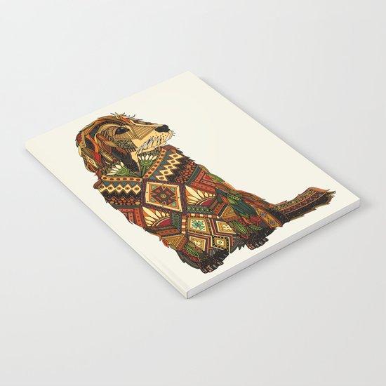 Golden Retriever ivory Notebook