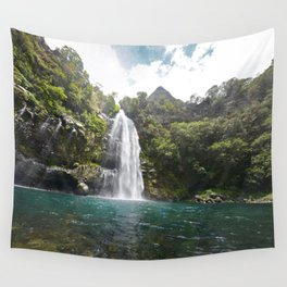 Chasing waterfalls Wall Tapestry