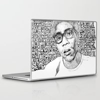 childish gambino Laptop & iPad Skins featuring Gambino by Seth Beukes