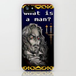 Dracula Jeopardy iPhone Case