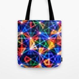 Flux Capacitor Geometric Art Print. Tote Bag