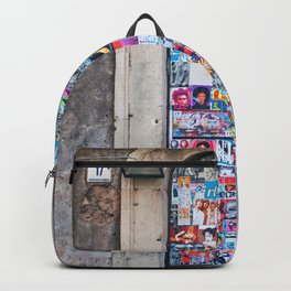Piazza Duca di Genova 17 in Catania - Sicily Backpack