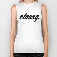 classy Biker Tanks featuring CLASSY. by ambitionblvk