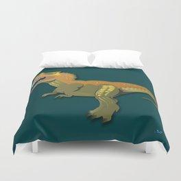 Dinosaur - 'A Fantastic Journey' Duvet Cover