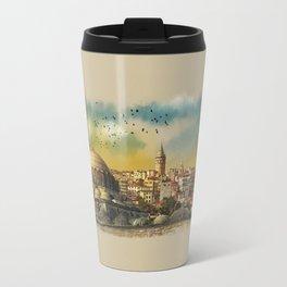 dawn in Istanbul Travel Mug