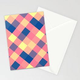 Squared abstraction Stationery Cards