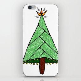 Merry Christmas Tree iPhone Skin