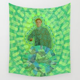 Lime Man Wall Tapestry