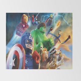super hero  , super hero  games, super hero  blanket, super hero  duvet cover,  Throw Blanket